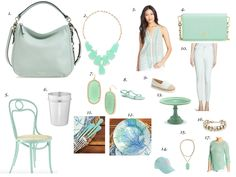 A few of my favorite things | Mint..... — Everyday by Everly