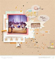 Good Game {Studio Calico March Kits} - Club CK - The Online Community and Scrapbook Club from Creating Keepsakes
