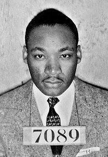 Martin Luther King mug shot