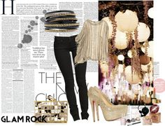 """""""Bling on the Night"""" by shubhangi90 on Polyvore"""