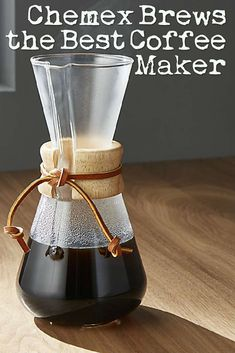 Manual coffee-making methods are gaining popularity as more people say goodbye to their traditional drip brew systems in search of a more refined coffee experience, that's why I thought I would have a very serious look at what brews better coffee: Chemex vs. French Press? Let's examine.