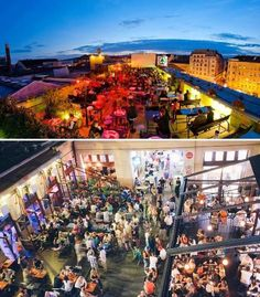 Gozsdu Sky Terrace, Cafe/bar - Budapest, Hungary