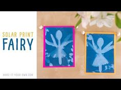 Have you ever seen an image of a fairy? Now you can create your own by using solar paper and found and nature objects to create your own fairy picture! Solar Paper, Fantasy Craft, Real Fairies, Fairy Pictures, Create Your Own, Arts And Crafts, Make It Yourself, How To Make, Blog