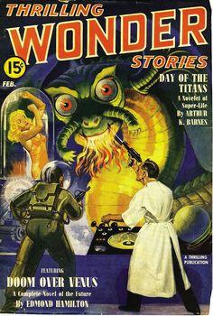 Thrilling Wonder Stories – Doom Over Venus | Flickr - Photo Sharing!