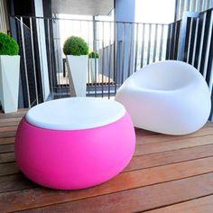 Modern Garden Furniture: Gumball Garden Furniture Collection by Plust : Gumball Garden Furniture Collection by Plust – Cute Table