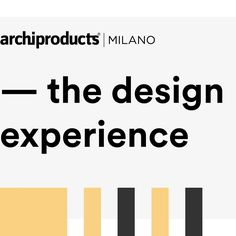 Are you joining this years #MilanDesignWeek? Make sure to plan your visit at and join our special event #TheDesignExperience during Fuorisalone 2017 to discover our brand new setting its worth it! Architypes by @Serena Confalonieri 4-9 April / h 10-21 Via Tortona 31 Metro Porta Genova . #furniture#homedecoration#homedecorating#interiordecoration#homedetails#vsco#vscocam#instarchitects#tv_architectural#design_hunter#productdesign#industrialdesign#archiproducts #fuorisalone #tortona31#tortona…