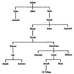 adam eve noah abraham family tree - Google Search