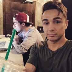 Caleb, Joey, and Starbucks