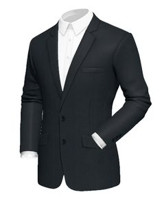 Blazers for Men Cotton Blazer, Linen Blazer, Tweed Blazer, Tweed Jacket, White Pocket Square, Blazers For Men, Sport Coat, Black Fabric, Custom Shirts