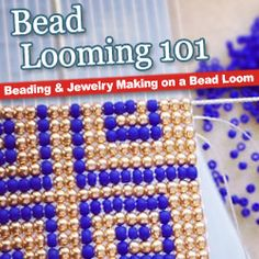 Bead Looming 101 - www.beadaholique.com - Learn beading and DIY jewerly-making on a bead loom with instructional videos and project tutorials.