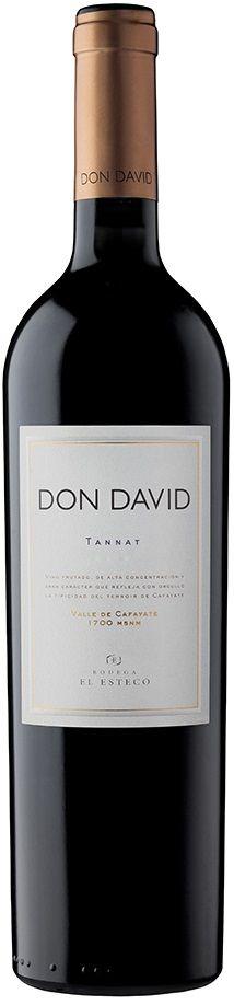 """""""Don David"""" Tannat 2010 - Bodega El Esteco, Cafayate, Salta-------------------------------------- Terroir: Valle de Cafayate--------- Crianza: 70 % del vino en contacto con roble francés y americano durante 9 meses"""