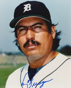 "Juan Berenguer (1) - Detroit Tigers - 8"" X 10"" MLB Baseball Pictures & Autographs - MLB Autograph"
