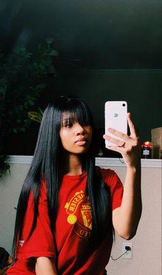 Sew In Hairstyles, Baddie Hairstyles, Black Girls Hairstyles, Straight Hairstyles, Curly Hair Styles, Natural Hair Styles, Natural Beauty, Aesthetic Hair, Hair Laid