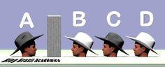 Desafio mental: Quatro homens de chapéu