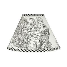 Sweet JoJo Designs French Toile Lamp Shade