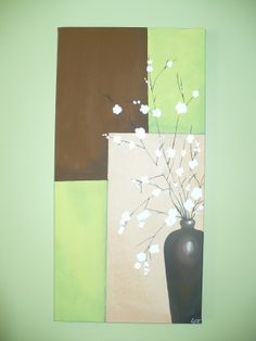 Douceur floral -  - Vous aimez créer vos propres tableaux avec le home déco ?