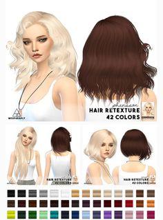 Miss Paraply: Sintiklia hairs • Sims 4 Downloads