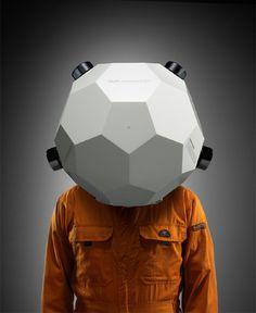 Audionauts helmet design by Mike Kim.wonderfully wierd and functional Character Art, Character Design, Tecno, Suit Of Armor, Helmet Design, Concept Art, Otaku, Design Inspiration, Helmets
