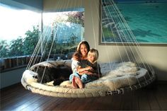 special floating bed for autistic children bedroom-ideas