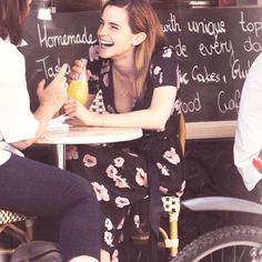 Emma Watson and her smile!! She is a real inspiration to every girl and is such a great role model!