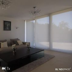 Video from the first whole-house installation of Blindspace® boxes back in 2017.   Full video has received 55k views on YouTube! Living Room Tiles, Blinds For Large Windows, Balcony Glass Design, Blinds For Windows Living Rooms, Space Saving Doors, Living Room Blinds, Blinds And Curtains Living Room, Bedroom Wallpaper Elegant, Living Room Design Modern