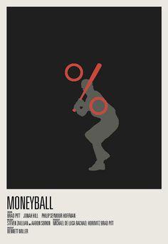 https://flic.kr/p/bijsC8 | Moneyball | 2012 Best Picture Nominee Poster Series 1/9 Moneyball hunterlangston.bigcartel.com/product/2012-best-picture-no...