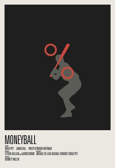 2012 Oscar Nominees Poster Design by Hunter Langston... MONEYBALL