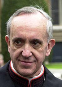 Cardinal Bergoglio, now Pope Francis