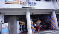 Daily Bubble Laundry - Bacolod laundry shop - Bacolod laundromat