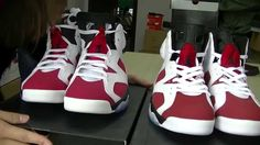 0472d3e99edc1b Air Jordan 6 Retro  Carmine  2014 Authentic VS Replic Review