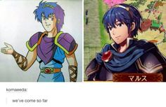 The evolution of Marth | Fire Emblem | Know Your Meme