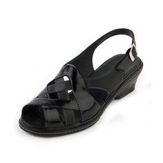 75d45afdf41 Eliza Ladies Sandal E The plain lines of this graceful sandal complement  the super soft straps