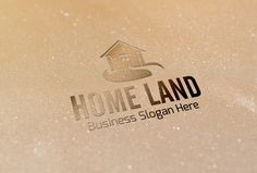 Check out Home Land Style Logo by BDThemes Ltd on Creative Market