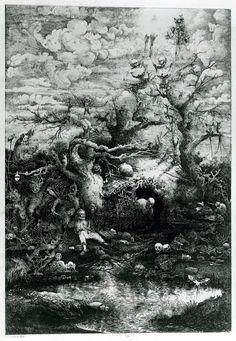 La comedie de la mort - Rodolphe Bresdin