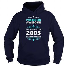 Cool 2005 Aged to perfection Hoddie Xmas Sweater Shirts & Tees