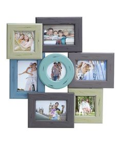 Another great find on #zulily! Seven-Photo Collage Frame Set #zulilyfinds