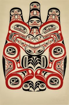 Bill Reid - Haida Grizzly, 1973 - Maynards Industries - Fine Art & Antiques MOA - UBC http://www.rrncommunity.org/items/3856