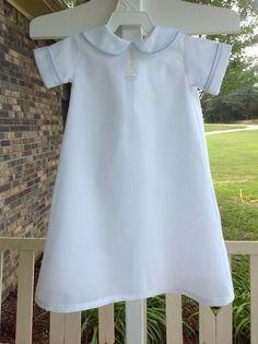 Boy's Daygown--Preemie