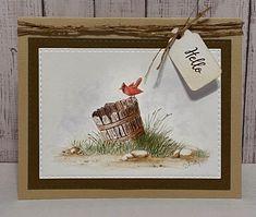 Painting Teacher, Pumpkin Topiary, Art Impressions Stamps, State Birds, Spooky Pumpkin, Autumn Theme, Pumpkin Decorating, Paper Background, Watercolor