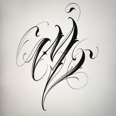 Mendoza No photo description available. Calligraphy Tattoo Fonts, Tattoo Fonts Alphabet, Tattoo Lettering Styles, Chicano Lettering, Graffiti Lettering Fonts, Hand Lettering Alphabet, Tattoo Script, Graffiti Alphabet, Lettering Design
