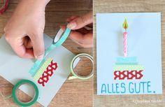 Geburtstagskarten basteln
