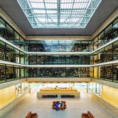 Biblioteca Brasiliana, com projeto do arquiteto Eduardo de Almeida