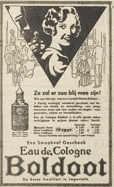 Boldoot, advertentie 1931