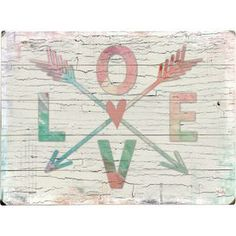 Love Arrows Wall Decor