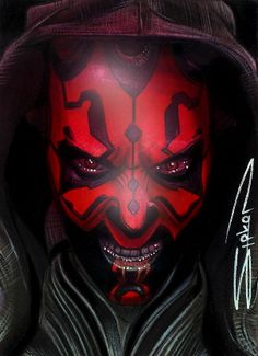 Darth Maul Sketch Card 3 by RandySiplon.deviantart.com