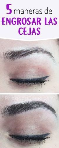 5 tricks to thicken your eyebrows naturally – Beauty Beauty Care, Beauty Skin, Beauty Makeup, Eye Makeup, Beauty Hacks, Hair Makeup, Hair Beauty, Face Care, Body Care