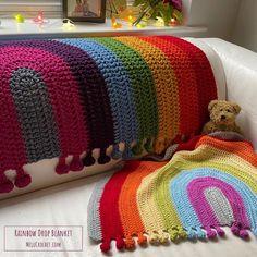 Rainbow Drop Blanket pattern by Melu Crochet Baby Afghan   Etsy Baby Afghan Crochet, Baby Afghans, Afghan Crochet Patterns, Crochet Blankets, Modern Crochet Patterns, Baby Patterns, Crochet Ideas, Crochet Projects, Selling Crochet