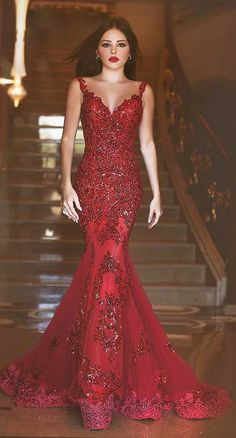 Cheap prom dresses Buy Quality mermaid prom dress 2016 directly from China mermaid prom dress Suppliers: Robe de soiree Elegant Long Evening Dress V-Neck Spaghetti Strap Flppr Length Applications Tulle Mermaid Prom Dresses 2016 Straps Prom Dresses, Prom Dresses 2016, Elegant Prom Dresses, Backless Prom Dresses, Prom Dresses Online, Cheap Prom Dresses, Prom Party Dresses, Sexy Dresses, Bridesmaid Gowns