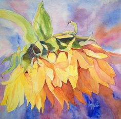 Judy Mudd - Work Zoom: Sunflower