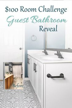 Bathroom Makeovers On A Budget, Diy Bathroom Remodel, Diy Bathroom Decor, Simple Bathroom, Bathroom Renovations, Modern Bathroom, Bathroom Interior, Bathroom Organization, Bathroom Storage